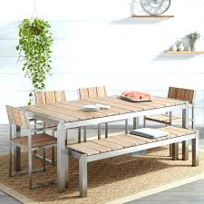 Bench Seat Dining Table Shown With Amber Bench And Lazy Susanoutdoor Furniture Timber