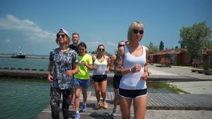 fitness sport and healthy lifestyle concept group of people