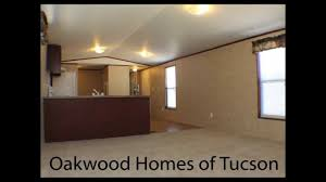 Floor Plans For Single Wide Mobile Homes by Oakwood Homes Of Tucson 2 Bed 2 Bath 14x60 Singlewide Mobile