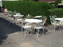Patio Furniture Wrought Iron Dining Sets - patio 60 wrought iron patio chairs patio furniture 1000