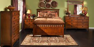 bedroom expressions mission style must have cristo bedroom in medium oak finish