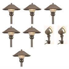 Outdoor Landscape Lighting Kits Landscape Lighting Kit Ebay