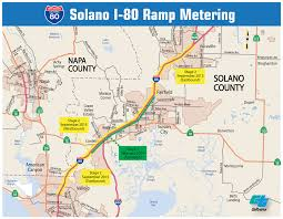 solano county map caltrans district 4 i 80 solano r metering