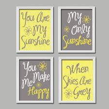 Home Decor Yellow And Gray Wall Decoration Yellow And Gray Wall Decor Lovely Home