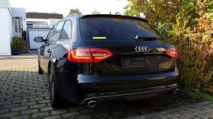 first audi worlds first audi a4 b8 with full dynamic turn signal youtube