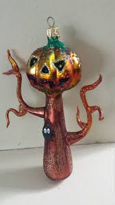 halloween blown glass larry fraga haunted tree christmas tree
