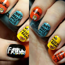starrily nail polish naildawdle the best friends inspired nail