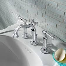 Bathroom Sink Handles Quentin 2 Handle 8 Inch Widespread Bathroom Faucet American Standard
