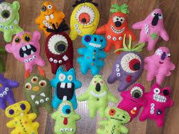 halloween milk jug crafts primitive halloween felt epattern pdf a hoard of monsters 5 00
