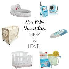newborn baby necessities 6 new baby necessities sleep health