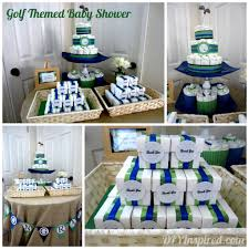 golf themed baby shower baby shower ideas themes