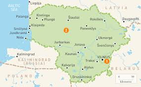 Interactive Europe Map by Map Of Lithuania Lithuania Regions Rough Guides Rough Guides