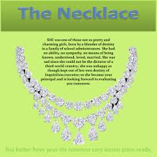 Example Of Poem Analysis Essay The Necklace U201d Teacher U0027s Guide Contains Lesson Plans With Common
