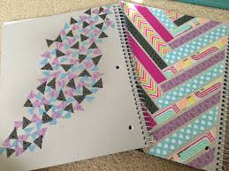 best 25 washi tape notebook ideas on pinterest diy washi tape