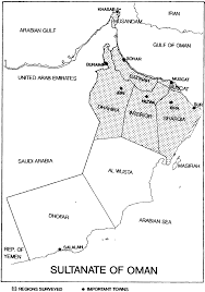 Map Of Oman Plant Parasitic Nematodes Associated With Date Palm Trees Phoenix