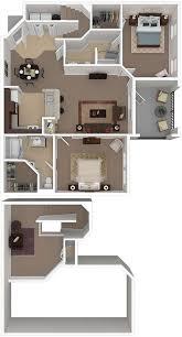 Floor Plan For Two Bedroom Apartment Bedroom Two Bedroom Apartment Design Bedroom Designs Modern
