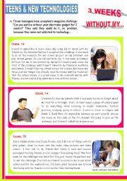 english teaching worksheets new technologies