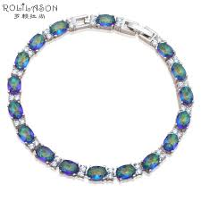 s day charm bracelet luxury gifts for s day multicolor zircon silver health