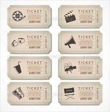 25 unique ticket template ideas on pinterest movie ticket