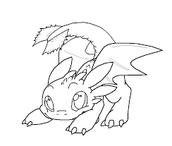 train dragon older toothless coloring