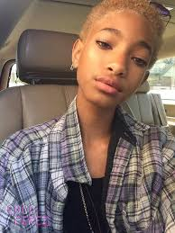 hairstyles after dreadlocks willow smith goes blonde after putting her dreads on the chopping