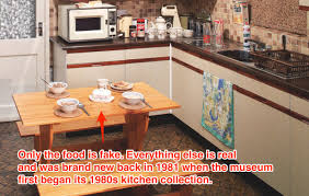 The Kitchen Collection Uk York Museum U00271980s Kitchen U0027 Exhibit Business Insider