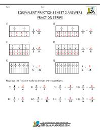 third grade math fractions worksheets worksheets