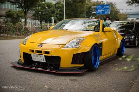 stanced nissan photo collection nissan 350z stance yellow