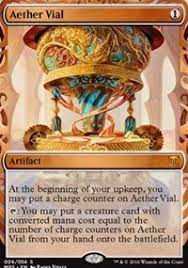 aether vial masterpiece series kaladesh inventions magic the