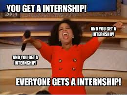 Intern Meme - post grad internships not a joke college magazine
