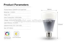 mi light led lighting 8w e27 wifi smart commercial lighting bulb