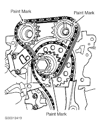 1999 nissan altima timing marks need diagram 2 4l engine