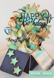 mens happy birthday pop up box design https www facebook com
