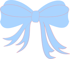 baby ribbon baby blue ribbon clip at clker vector clip online