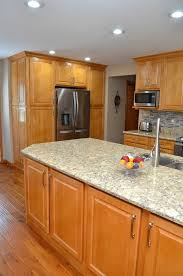 kitchen paint colors with honey maple cabinets chesterton in haas signature collection maple honey
