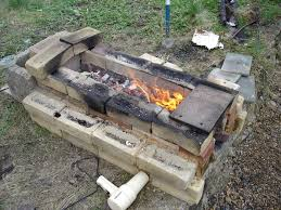 built a pit forge using charcoal beginners place bladesmith u0027s