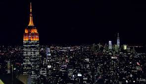 yes the empire state building is orange for halloween inverse
