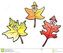 cartoon fall leaves royalty free stock photos image 20742798