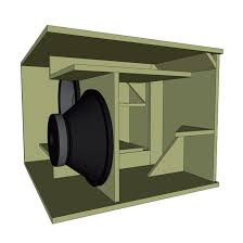 Bass Speaker Cabinet Design Plans Eighteen Sound Enclosure Design
