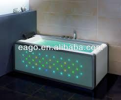 eago whirlpool bathtub for one person massage bathtub unique led