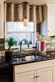 curtain ideas for kitchen what a difference kitchen curtains make modernize