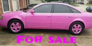 pink audi a6 find of the day custom colored audi a6 nogaro pink fourtitude com