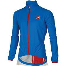 mtb rain jacket castelli men u0027s riparo blue cycling rain jacket size l new ebay
