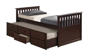 Pictures Of Trundle Beds Amazon Com Broyhill Kids Marco Island Captain U0027s Bed With Trundle
