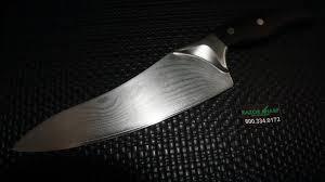 ken kitchen knives shun dm0500 ken damascus blade 8 chef s knife used condition