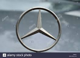 mercedes car emblem mercedes car emblem car badge stock photo royalty free image