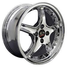 Black Chrome Wheels Mustang Deep Dish Chrome Wheels Toyo Tires Fit Ford Mustang 17x8 17x9