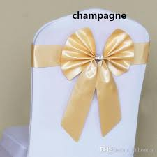 yellow chair sashesaffordable wedding favors bow chair belt wedding decoration bow back chair back chair covers