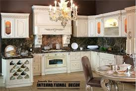 best designs of luxury kitchens in classic style