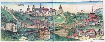 Prague Map Europe by History Of Prague Wikipedia